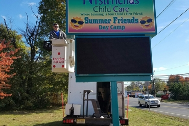 First-Friends-Child-Care-Sign